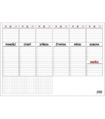Table calendar Stolní plánovač A3 - týd. mapa - 30 listů 2020