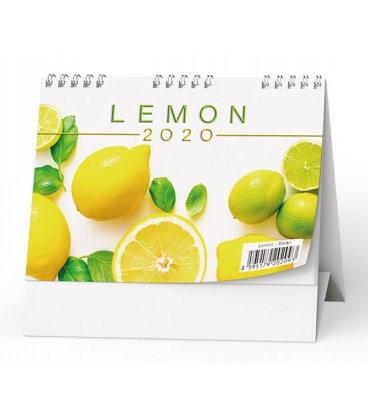 Table calendar Lemon 2020