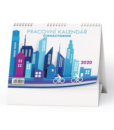 Table calendar Pracovní kalendář Čtrnáctidenní 2020