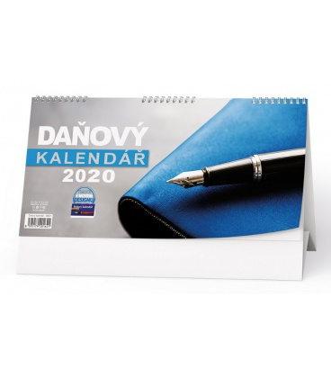 Table calendar Daňový kalendář 2020