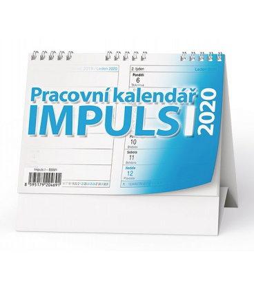 Table calendar Pracovní kalendář IMPULS I 2020