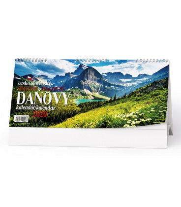 Table calendar Československý pracovní daňový kalendář - Příroda 2020