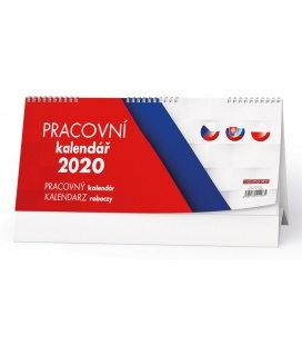 Table calendar Pracovní kalendář  (CZ - SK - PL) 2020