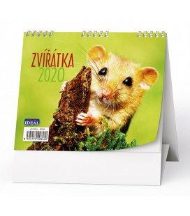 Table calendar IDEÁL - Zvířátka 2020