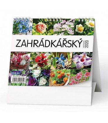 Table calendar IDEÁL - Zahrádkářský kalendář 2020