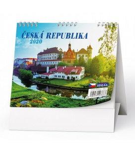 Table calendar IDEÁL - Česká republika 2020