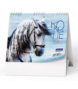 Table calendar IDEÁL - Koně 2020