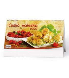 Table calendar Česká vařečka 2020