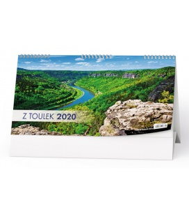 Table calendar Z toulek 2020