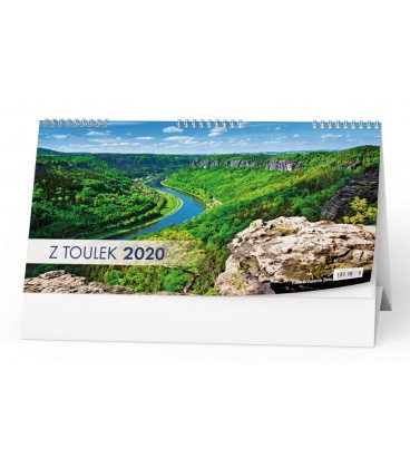 Table calendar Z toulek 2020