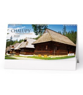 Table calendar Chalupy 2020