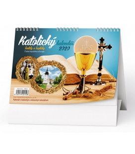Table calendar Katolický kalendář (kostely a kapličky) 2020