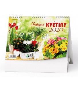 Table calendar Pokojové květiny 2020