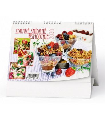 Table calendar Zdravé snídaně + smoothie 2020