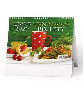 Table calendar Levné hrníčkové recepty 2020