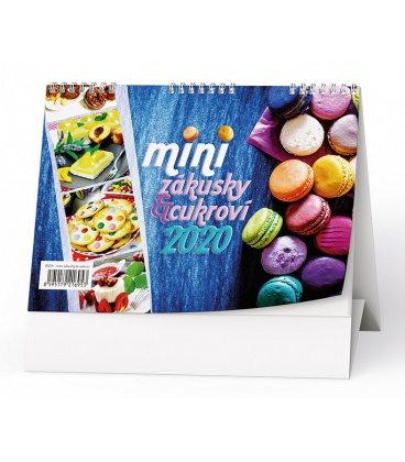 Table calendar Mini zákusky & cukroví 2020