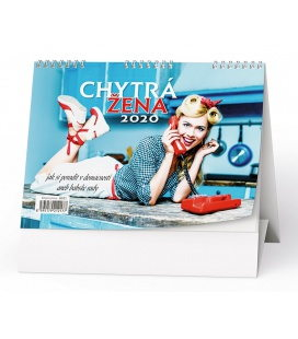 Table calendar Chytrá žena 2020