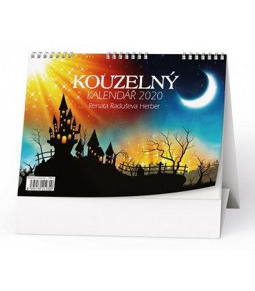 Table calendar Kouzelný kalendář (Renata Raduševa Herber) 2020