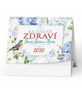 Table calendar Kalendář zdraví (Renata Raduševa Herber) 2020