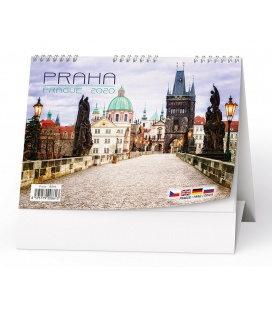 Table calendar Praha 2020
