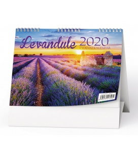 Table calendar Levandule 2020