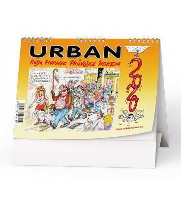 Table calendar Urban - Ruda Pivrnec - Průvodce rokem 2020 2020 (Ilustrativní foto)