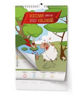 Wall calendar Rodinný 2020