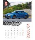 Wall calendar Superauto 2020