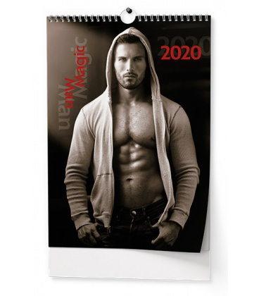 Wall calendar Magic Man 2020