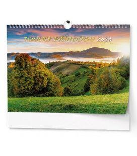 Wall calendar Toulky přírodou 2020