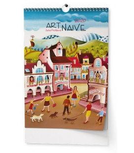 Wall calendar Art Naive - Sylva Prchlíková 2020