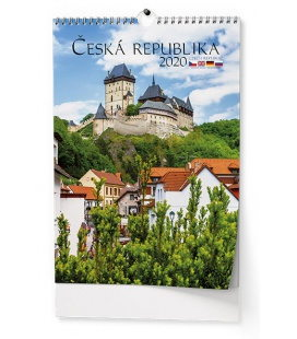 Wall calendar Česká republika 2020