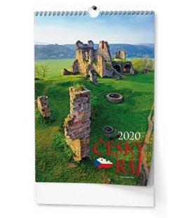 Wall calendar Český ráj 2020