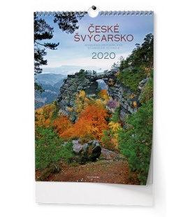 Wall calendar České Švýcarsko 2020