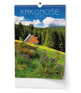 Wall calendar Krkonoše 2020