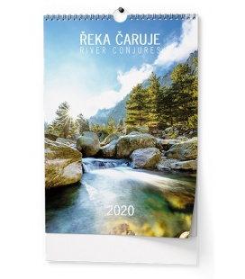 Wall calendar Řeka čaruje 2020