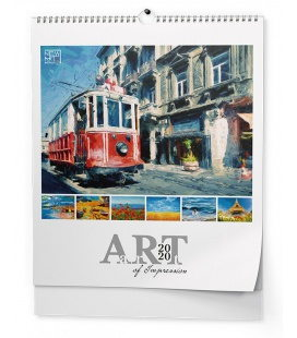 Wall calendar - Art of Impression (NEW ART edition) 2020