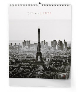 Wall calendar - Cities (NEW ART edition) 2020