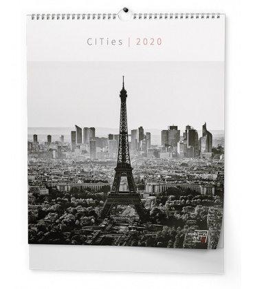 Wall calendar - Cities (NEW ART edition) 2020