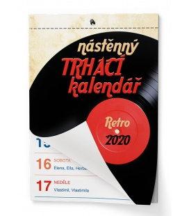 Wall calendar Senior II. - A5 2020