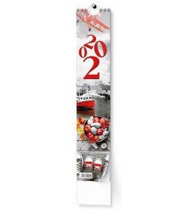 Wall calendar Kravata - Žánrový - vázanka 2020