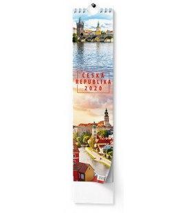 Wall calendar Kravata - Česká republika - vázanka  2020