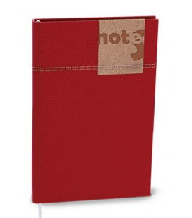 Notepad lined with a pocket A6 - denim 2020