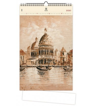 Wood Wall calendar Venezia II. 2020