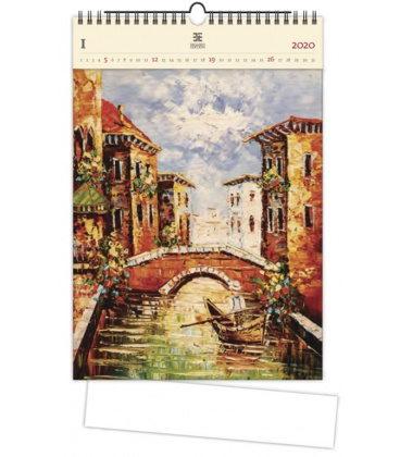 Wood Wall calendar Venezia III 2020