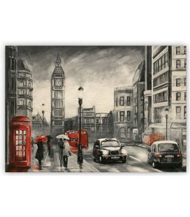 Wall calendar - Wooden picture -  London 2020