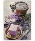 Wall calendar - Wooden picture -  Provence 2020