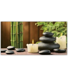 Wall calendar - Wooden picture -  Zen 2020
