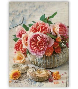 Wall calendar - Wooden picture -  Shell 2020