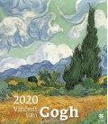 Wall calendar Vincent van Gogh 2020